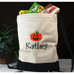 Embroidered Halloween Sports Bag