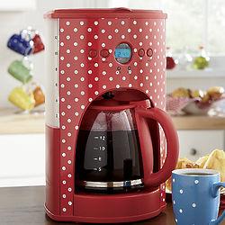 Polka Dot 12-Cup Coffeemaker