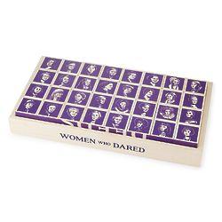 Women Who Dared Toy Blocks