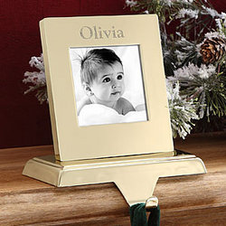 Photo Memories Engraved Stocking Holder