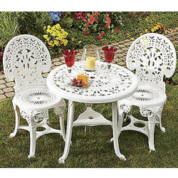 Crown Resin Bistro Set