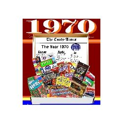 Retro 70 Candy Gift Box with 1970 Highlights
