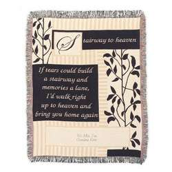 Stairway To Heaven Personalized Throw Blanket