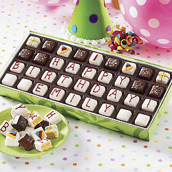 Personalized Mini Birthday Petits Fours