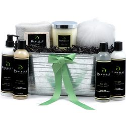 Ultimate Organic Bath and Body Collection Holiday Gift Basket