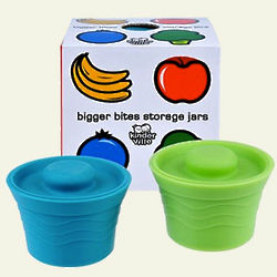 Bigger Bites Silicone Food Jars