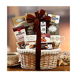 Cocoa, Coffee, Tea and Sweets Basket