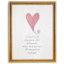 Personalized Framed Wedding Watercolor Canvas Wall Art