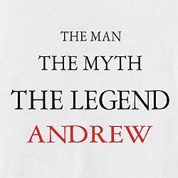 Personalized Man, Myth, Legend T-Shirt