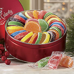 Fruitful Delight Candy Slices Tin