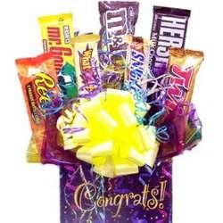 Congratulations Confetti Candy Bouquet