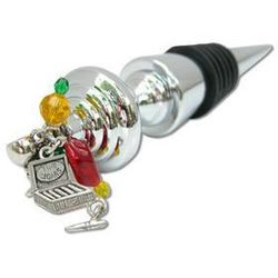 Cigar Theme Wine Bottle Stopper