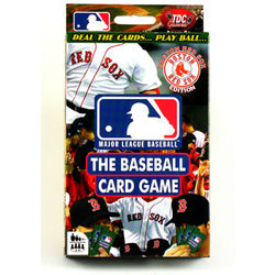 Boston Red Sox The Baseball Card Game