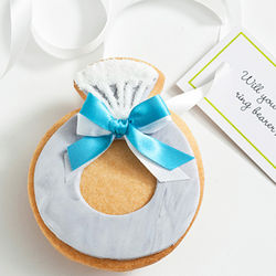 Will You Be My Ring Bearer? Edible Ring Cookie Card