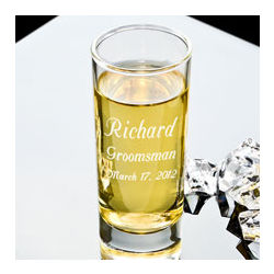 Personalized Make Your Own Tall Shot Glass