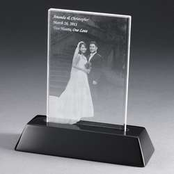 Personalized Flat 3D Crystal Photo