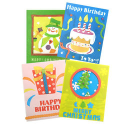 Birthday or Christmas Greeting Soap Card