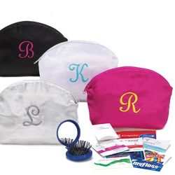 Personalized Cosmetic Bag Survival Kit