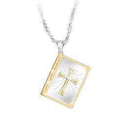 Biblical Blessings Diamond Pendant Locket