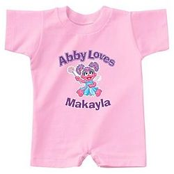 Personalized Abby Loves Romper