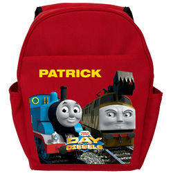 Thomas and Friends Day of the Diesels Red Toddler Backpack