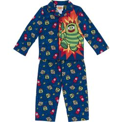 Yo Gabba Gabba! Boy's Toddler Long Sleeve Pajama Set