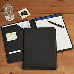 Personalized Leather Portfolio