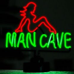 Lady Luck Man Cave Neon Sign