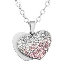 Girl's Ombre Heart Necklace