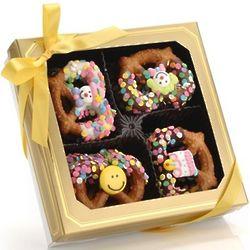 Happy Birthday Gourmet Pretzel Twists Box