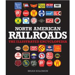 North American Railroads Harcover Book