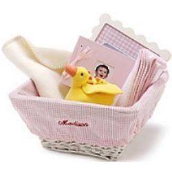 Woven Baby Nursery Basket
