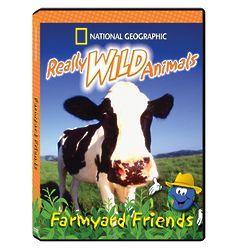 Really Wild Animals: Farmyard Friends DVD