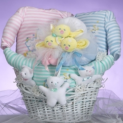 Baby Catch A Star Triplets Gift Basket