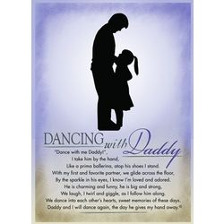 Dancing with Daddy Plaque