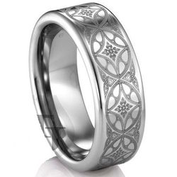 Artcarved Tungsten Wedding Band