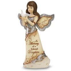Expressions of Sympathy for Loss of a Daughter Angel Figurine
