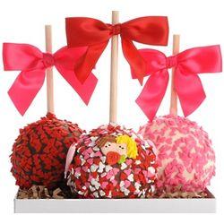Petite Valentine Caramel Chocolate Gourmet Apples