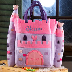 Personalized Princess' Castle Trick or Treat Bag