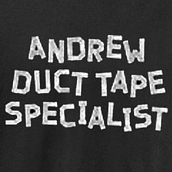 Personalized Duct Tape Specialist T-Shirt