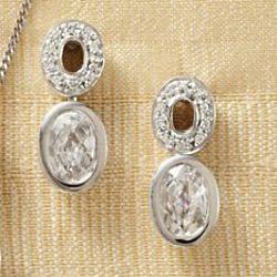 Irish Crystal Earrings