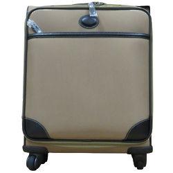 Khaki Body Spinner Wheeled Luggage