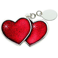 Personalized Heart to Heart Keepsake Ornament