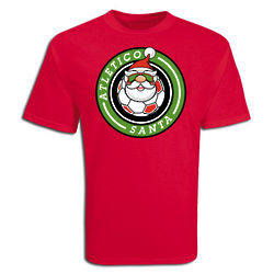 Youth's Atletico Santa Soccer T-Shirt