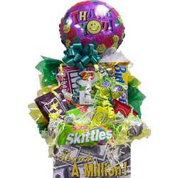 Thanks A Million Candy Basket