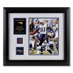 Randy Moss New England Patriots Framed 8x10 Photograph