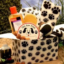 Paw Prints Dog Lovers Care Package