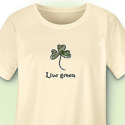 Live Green Organic Cotton Tee