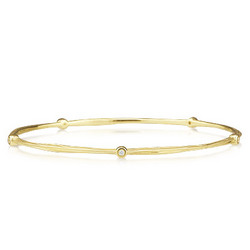 Diamond Bracelet in 14K Yellow Gold