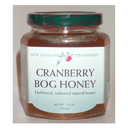 Pure New England Bog Cranberry Honey